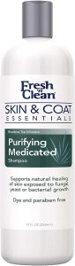 Petag Fresh 'n Clean Skin & Coat Essentials Purifying Medicated Dog Shampoo