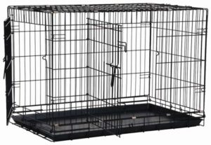 Precision Pet Products Great Crate Double Door Wire Dog Crate