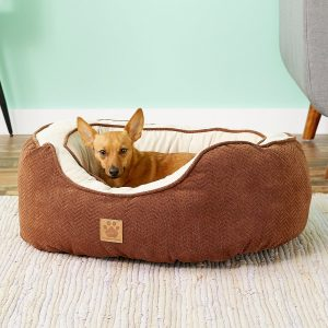 Precision Pet Products Gusset Bolster Dog Bed