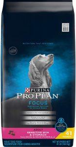 Purina Pro Plan Focus Adult Sensitive Skin & Stomach Salmon & Rice Formula Dry Dog Food