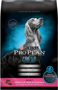 Purina Pro Plan Focus Adult Sensitive Skin & Stomach Salmon And Rice Formula Dry Dog Food