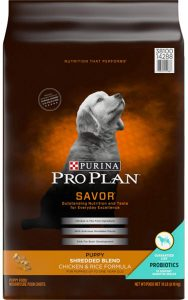 Purina Pro Plan Puppy Shredded Blend Chicken And Rice Formula With Probiotics Dry Dog Food