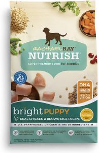 Rachael Ray Nutrish Bright Natural Real Chicken & Brown Rice Puppy Recipe Dry Dog Food