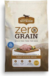 Rachael Ray Nutrish Zero Grain Natural Turkey & Potato Recipe Grain Free Dry Dog Food
