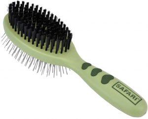 Safari Combo Brush For Dogs