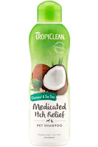 Tropiclean Medicated Oatmeal & Tea Tree Dog Shampoo