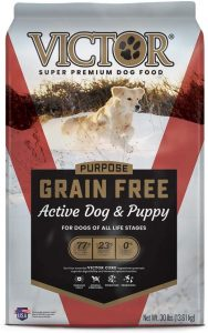 Victor Active Dog & Puppy Formula Grain Free Dry Dog Food