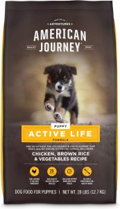 American Journey Active Life Formula Puppy Chicken, Brown Rice & Vegetables Recipe Dog Food