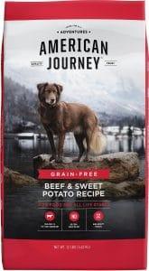American Journey Beef & Sweet Potato Recipe Grain Free Dry Dog Food