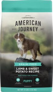 American Journey Lamb & Sweet Potato Recipe Grain Free Puppy Dry Dog Food