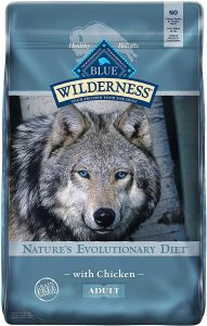 Blue Buffalo Wilderness Chicken Recipe Grain Free Dry Dog Food