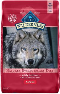 Blue Buffalo Wilderness Salmon Recipe Grain Free Dry Dog Food