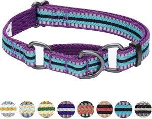 Blueberry Pet 3m Pattern Polyester Reflective Dog Collar