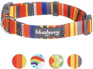 Blueberry Pet Nautical Prints Dog Collar
