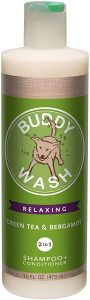 Buddy Wash Relaxing Green Tea & Bergamot Dog Shampoo & Conditioner