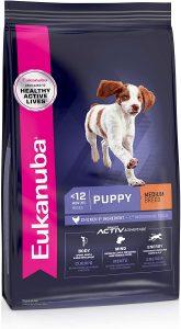 Eukanuba Puppy Medium Breed Chicken Formula Dry Dog Food