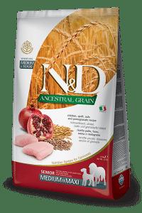 Farmina N&d Ancestral Grain Chicken & Pomegranate Medium & Maxi Puppy Dry Dog Food