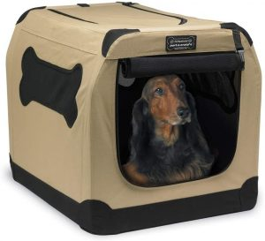 Firstrax Petnation Port A Crate E Series Double Door Collapsible Soft Sided Dog Crate