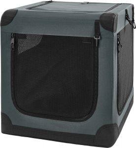 Frisco Indoor & Outdoor 3 Door Collapsible Soft Sided Dog Crate