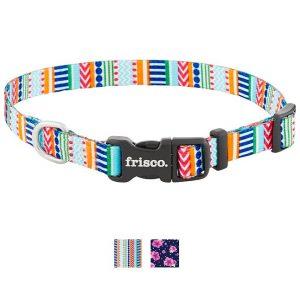 Frisco Patterned Nylon Dog Collar