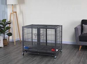 Go Pet Club 3 Door Collapsible Wire Dog Crate