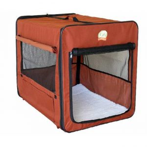 Go Pet Club Single Door Soft Sided Dog Crate