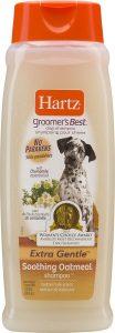 Hartz Groomer's Best Soothing Oatmeal Dog Shampoo