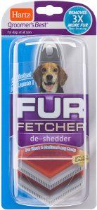 Hartz Groomer's Best Fur Fetcher De Shedder Dog Brush