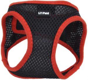 Li'l Pals Comfort Mesh Step In Back Clip Dog Harness