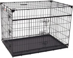 Lucky Dog Sliding Door Wire Dog Crate