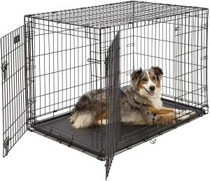 Midwest Icrate Fold & Carry Single Door Collapsible Wire Dog Crate