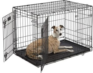 Midwest Icrate Fold And Carry Double Door Wire Dog Crate