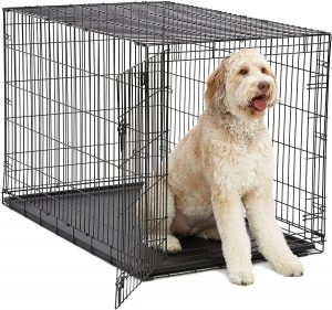 Midwest Icrate Single Door Collapsible Wire Crate
