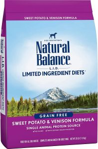 Natural Balance L.i.d Limited Ingredients Diet Sweet Potato And Venison Dog Food