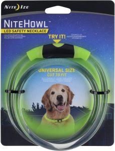 Niteize Nitehowl Led Safety Necklace Dog Collar