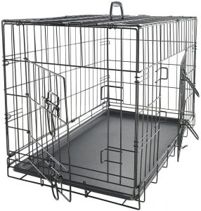 Paws & Pals Oxgord Double Door Dog Crate