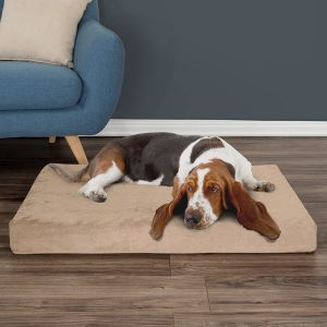 Petmaker Foam Pillow Dog Bed w/Removable Cover