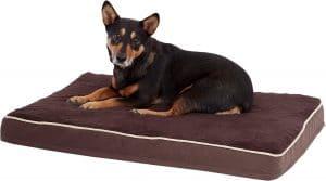 Petmate Plush And Jacquard Orthopedic Pillow Dog Bed