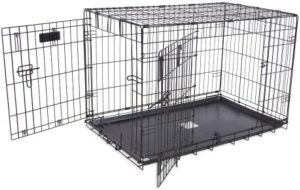 Precision Pet Products Provalu Single Door Collapsible Wire Dog Crate