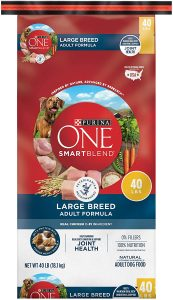 Purina One Smartblend Large Breed Adult Formula Dry Dog Food