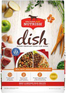 Rachael Ray Nutrish Natural Beef, Pea, & Brown Rice Recipe Dry Dog Food
