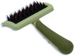 Safari Nylon Coated Tip Short Hair Dog Brush