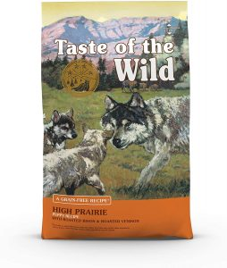 Taste Of The Wild High Prairie Puppy Formula Grain Free Dry Dog Food