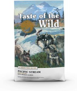 Taste Of The Wild Pacific Stream Puppy Formula Grain Free Dry Dog Food