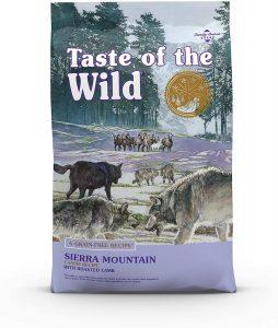 Taste Of The Wild Sierra Mountain Grain Free Dry Dog Food