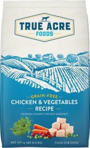 True Acre Foods Chicken & Vegetable Recipe Grain Free Dry Dog Food