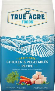 True Acre Foods Chicken And Vegetable Recipe Dog Food