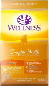 Wellness Complete Health Puppy Deboned Chicken, Oatmeal & Salmon Meal Recipe Dry Dog Food
