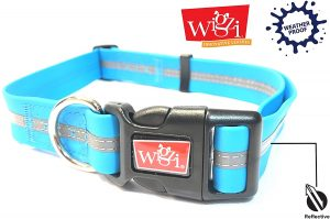 Wigzi Nylon Reflective Dog Collar