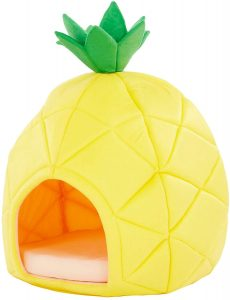 Yml Pineapple Covered Cat And Dog Bed